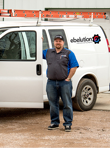 Choose Ebelution for over 13 years of HVAC experience